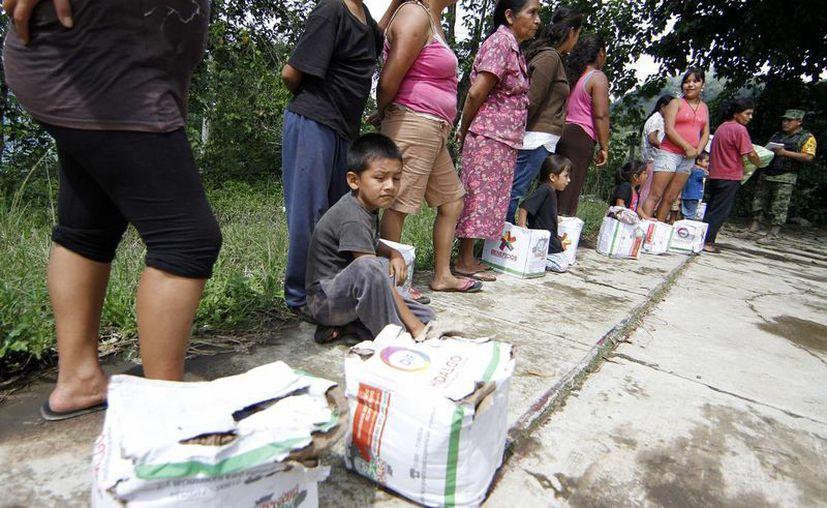La ayuda que recolectará la Iglesia será en dinero. (Notimex)