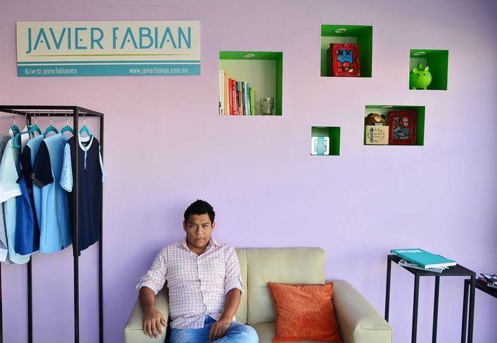 """""""Nunca tuve el objetivo de trabajar para alguien más, sino tener mi propio negocio"""". dijo Javier Fabián. (Milenio Novedades)"""