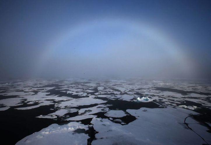 El volumen de los hielos eternos en el mar Ártico creció un 41 por ciento, de acuerdo con expertos. (EFE/Archivo)