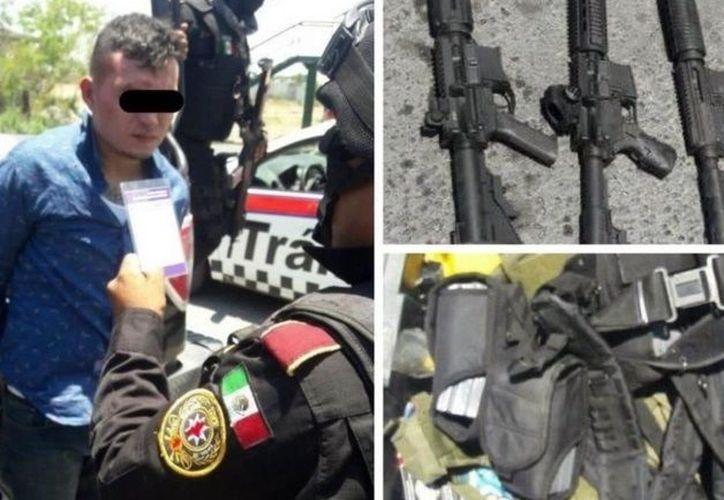 """César Octavio Ibarra, alias """"El Pimpón"""", fue detenido ayer. (elmanana.com)"""