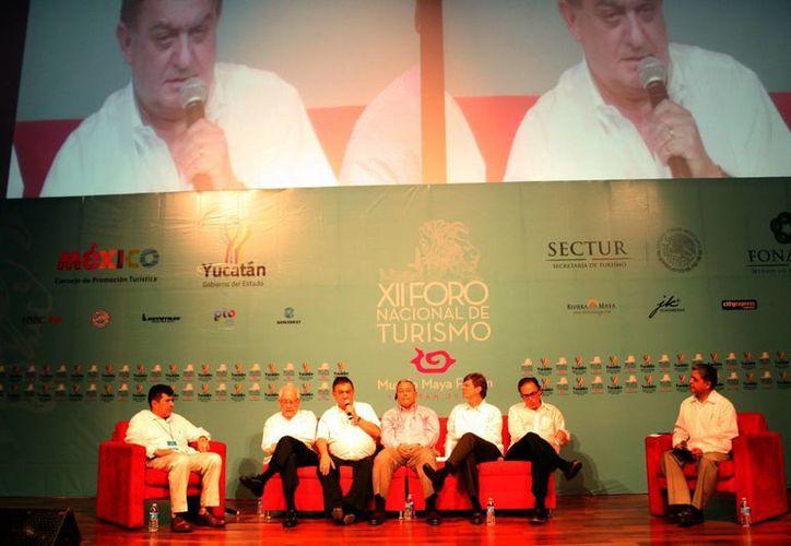 En el foro se hizo mención de proyectos turísticos para la región. (SIPSE)