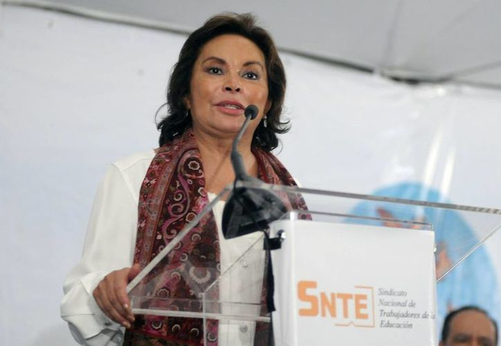 Elba Esther Gordillo Morales, lideresa del SNTE, fue arrestada en Toluca el 26 de febrero del año pasado. (Notimex/Foto de archivo)