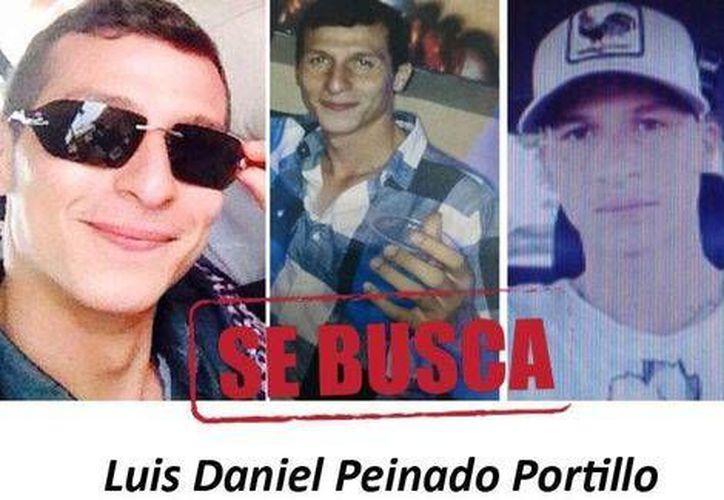 Luis Daniel Peinado Portillo, hoy prófugo, es señalado como responsable del asesinato del gimnasta Jaime Humberto Romero Morán, el 3 de enero. (Foto tomada de Milenio)