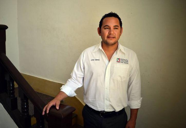 Jorge Sobrino Argáez reconoció su interés por ser candidato a la alcaldía de Mérida. (Archivo)