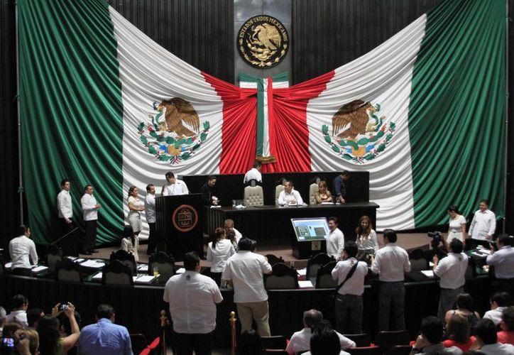 La XIV Legislatura Local tendrá varios puntos que tratar de la agenda legislativa.  (Harold Alcocer/SIPSE)