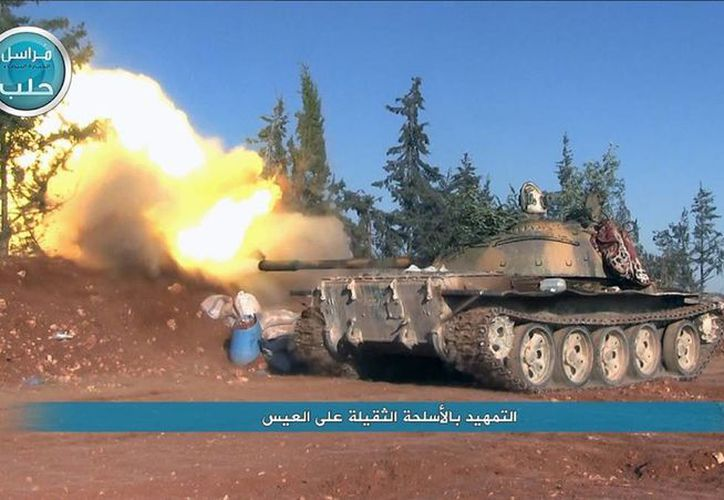 Al menos 10 personas murieron en zonas rebeldes de la ciudad de Alepo, en el norte de Siria, por ataques aéreos. (AP)