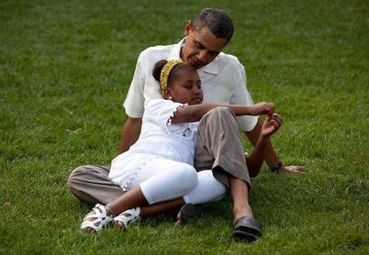 Obama añadió que intentará como presidente estimular el matrimonio y las familias sólidas. (Casa Blanca)