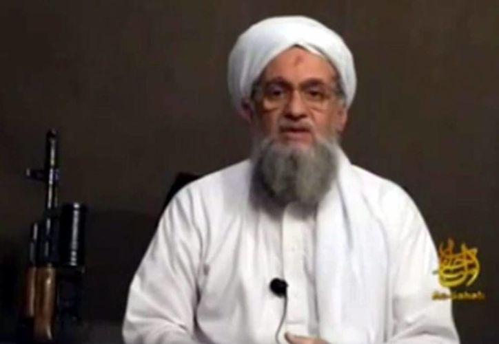El líder de la organización terrorista Al Qaeda, Aymán al Zawahiri. (EFE/Archivo)