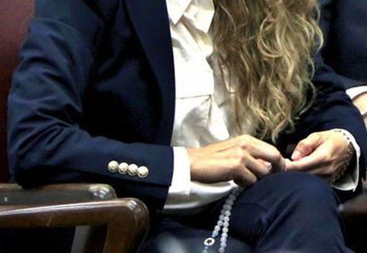 Paulina Rubio podría hacer perder a Colate la custodia de su hijo. (Notimex)