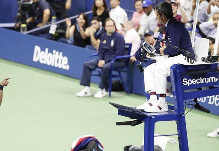 "Serena acusó al juez de ""machista"". (Internet)"