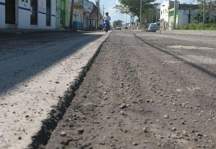 En la 65 avenida no se han finalizado los trabajos. (Julián Miranda/SIPSE)