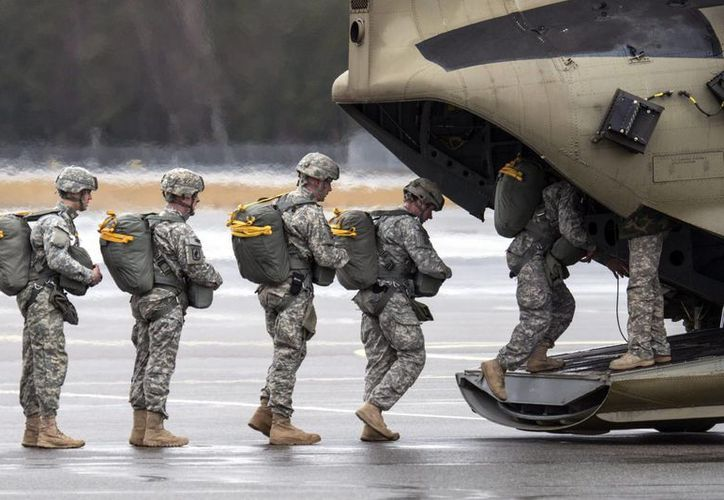 Actualmente hay más de 800 soldados norteamericanos en servicio en Irak tratando de contener el avance del grupo yihadista Estado Islámico. (EFE)