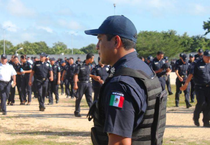 Juan Martín Rodríguez Olvera, titular de la corporación policíaca, indicó que en primer lugar se debe reportar al número de emergencias 911. (Daniel Pacheco).