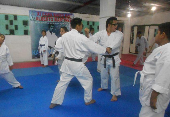 Realizarán seminario para instructores de karate que está avalado por la Federación Mundial. (Redacción/SIPSE)