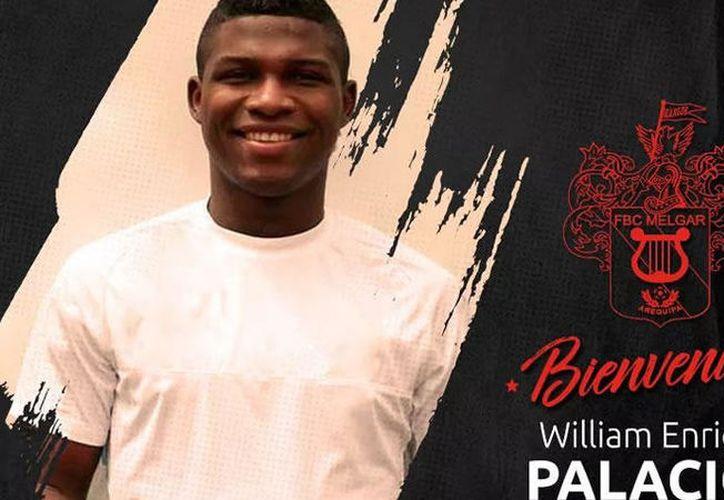 Luego de ser dado de baja de Lobos BUAP, el futbolista colombiano, William Palacios ya tiene nuevo equipo. (Twitter/@MelgarOficial).