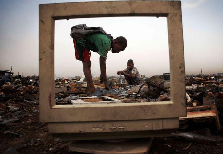 México genera alrededor de 350 mil toneladas de residuos eléctricos y electrónicos cada año. (Foto: Contexto/Internet)