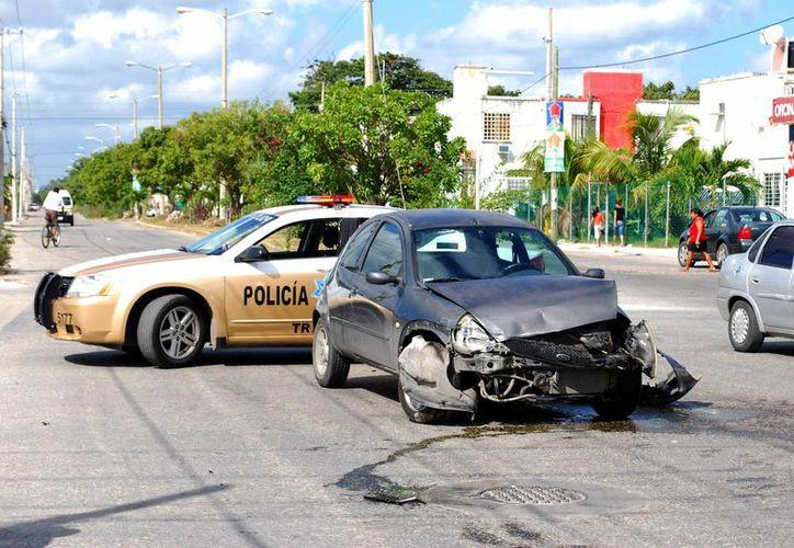 Reportan que 2.5 de cada 10 accidentes terminan en defunción. (Tomás Álvarez/SIPSE)