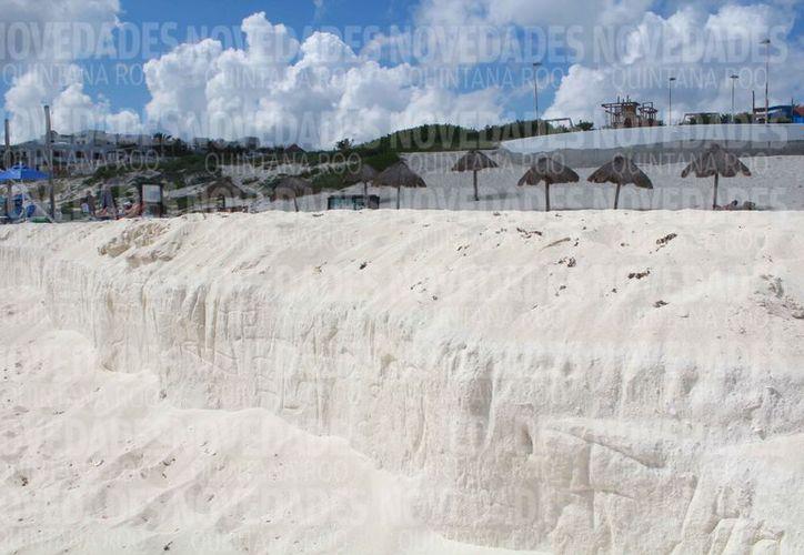 Planean atender el tema de la recuperación de playas en los puntos estratégicos. (Redacción)