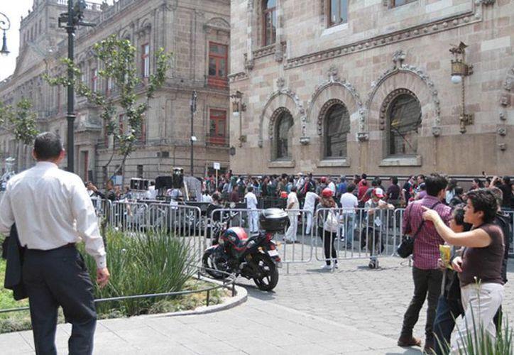 La producción de 'Spectre' y James Bond viajará a Chiapas para realizar tomas especiales. En la Ciudad de México, a donde corresponde la foto,  las locaciones son también un atractivo turístico. (Archivo/NTX)