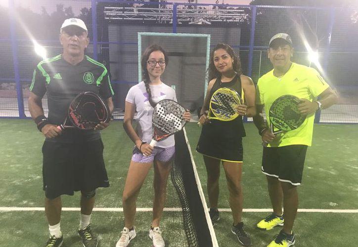 Isabella Pérez y Octavio Vega, de Cancún, impusieron su velocidad para vencer a la dupla proveniente de la capital de país. (Raúl Caballero/SIPSE)