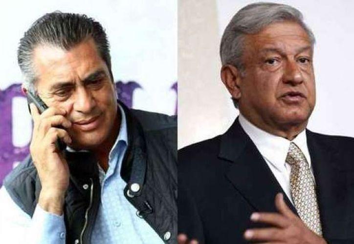 'El Bronco' afirmó que Andrés Manuel forma parte de la 'mafia del poder' que se vive actualmente, rumbo a las elecciones. (Foto: Virtual Puebla).