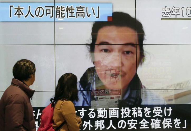 Kenji Goto se desplazó al territorio del Estado Islámico desde octubre para cubrir la guerra civil en Siria. (EFE)