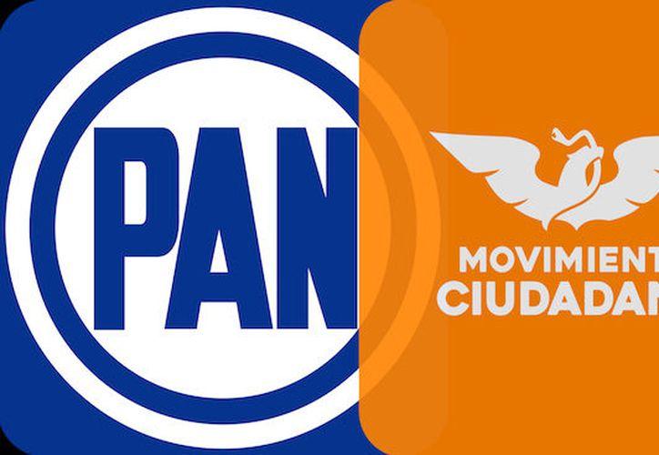 Se unen Partido Acción Nacional PAN y Movimiento Ciudadano para 'pelear' gubernatura de Yucatán. (SIPSE)