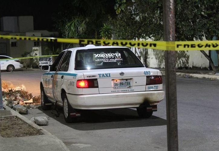 Un taxista fue sometido, golpeado y asaltado por un hombre y una mujer, en Playa del Carmen. (Redacción/SIPSE)