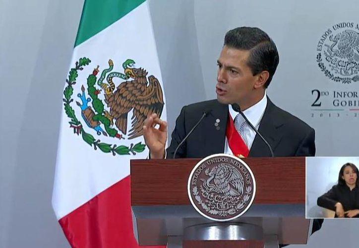 El presidente Enrique Peña Nieto dijo que este año se invertirán más de 73 mil millones en el programa Prospera, como se denomina ahora a Oportunidades. (Foto: www.presidencia.gob.mx)