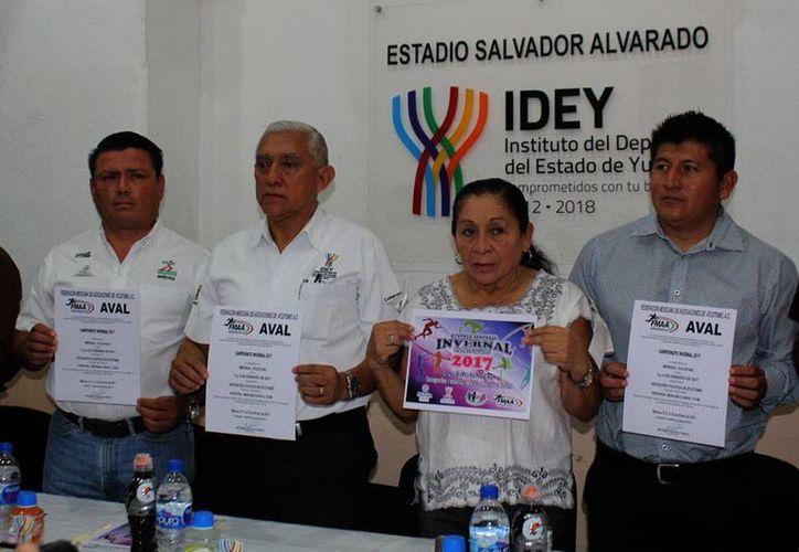 El Campeonato Invernal de Atletismo se celebrará en Mérida los días 3 y 4 de febrero, como parte de la celebración por el aniversario 77 del estadio Salvador Alvarado. (Foto: SIPSE)
