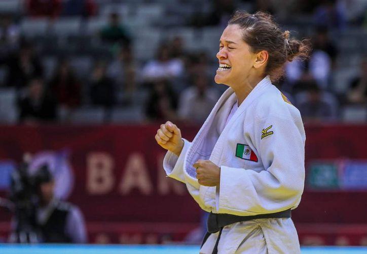 Lenia Ruvalcaba conquistó la medalla de oro  y suma puntos para los Juegos Paralímpicos de Tokio 2020. (Foto:Imagen tomada del twitter de @CONADE)