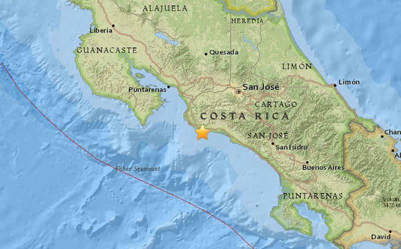 Deja 2 muertos sismo en Costa Rica
