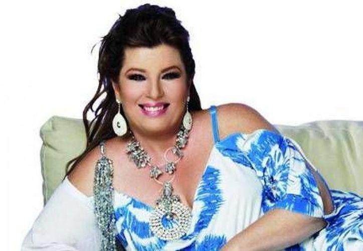 Margarita, la Diosa de la Cumbia  estará hoy en la plaza de la Reforma en Cancún. (Redacción/SIPSE)