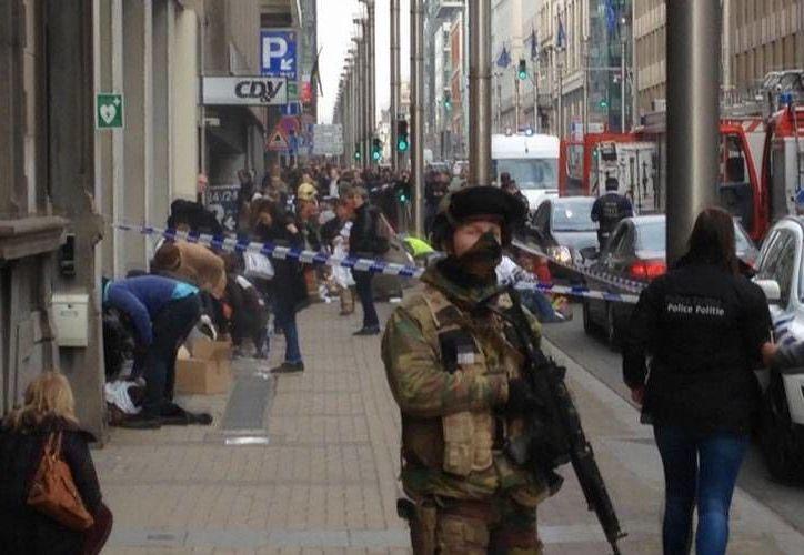 La policía federal belga detuvo a dos hombres que preparaban atentados en ese país europeo. (Imagen de contexto/AP)