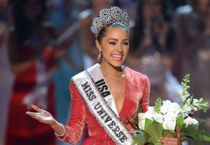 Para Miss USA renté un vestido de 20 dólares que tenía un agujero: Olivia Culpo. (Agencias)