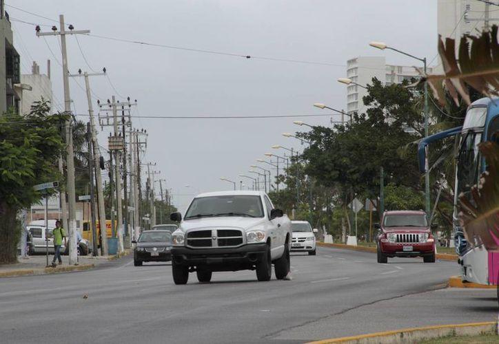 El evento iniciará en la entrada del bulevar Kukulcán, sobre la avenida Bonampak. (Tomás Álvarez/SIPSE)