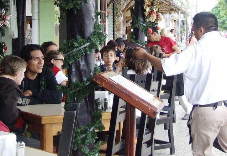 Los restauranteros reportaron una ocupación del 100 % durante Navidad. (Rossy López/SIPSE)