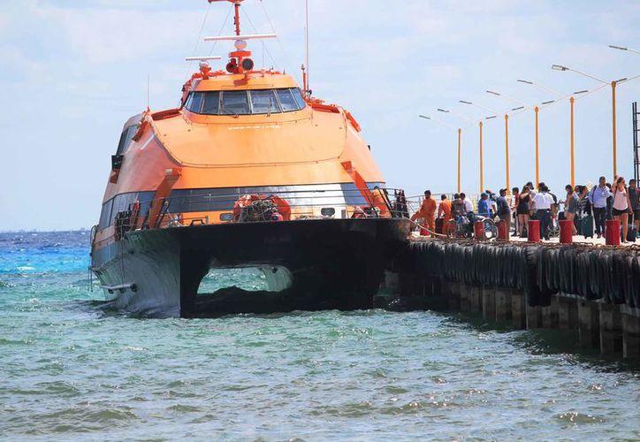 La terminal marítima opera con mismo equipo de seguridad que antes de la explosión de Barcos Caribe. (Foto: Octavio Martínez/SIPSE)