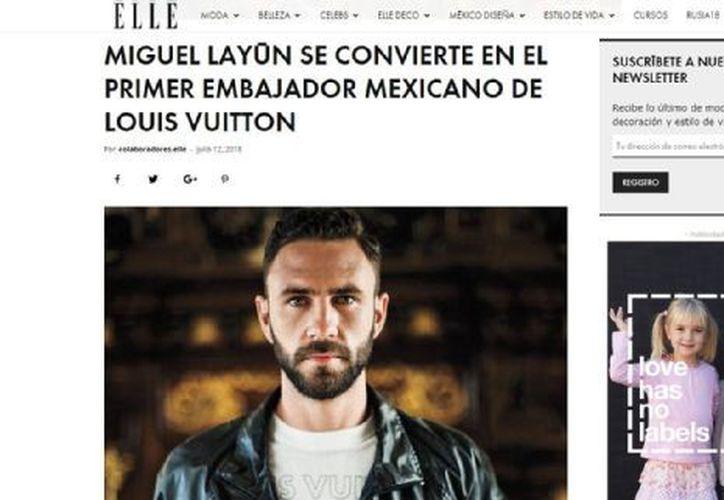 El portal de ELLE reveló que el nuevo jugador del Villarreal será el primer representante azteca de la distinguida línea de ropa. (Elle)