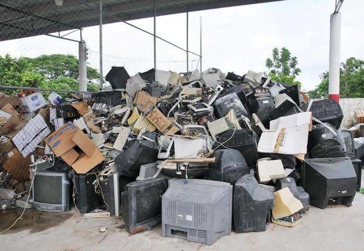 Camar se ha recibido y recolectado materiales electrodomésticos. (Cortesía/SIPSE)