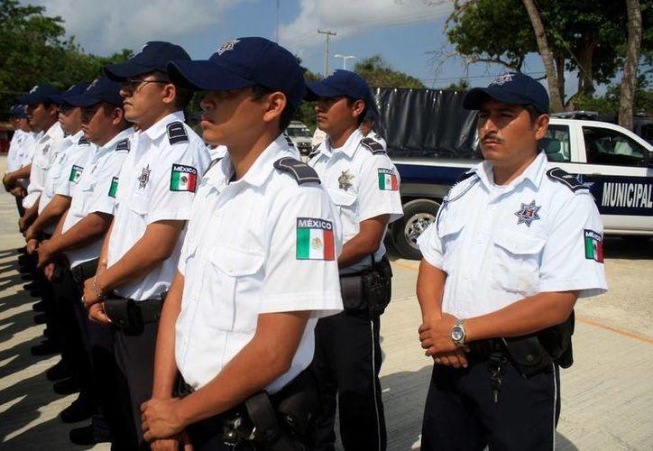 Al Ayuntamiento de Othón P. Blanco,  necesita contratar 100 policías como mínimo, sin embargo, las autoridades se ven limitadas. (Harold Alcocer/SIPSE)