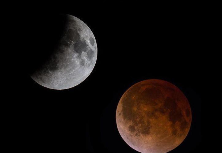El fenómeno podrá apreciarse a simple vista a partir de las 21:11 horas del día de hoy. (Cortesía/Saqroo)