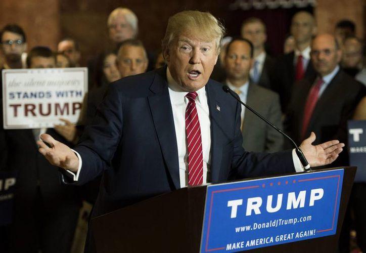 Donald Trump no ha dejado de cuestionar las relaciones comerciales que mantiene Estados Unidos con países como México, China o Japón. (Archivo/EFE)