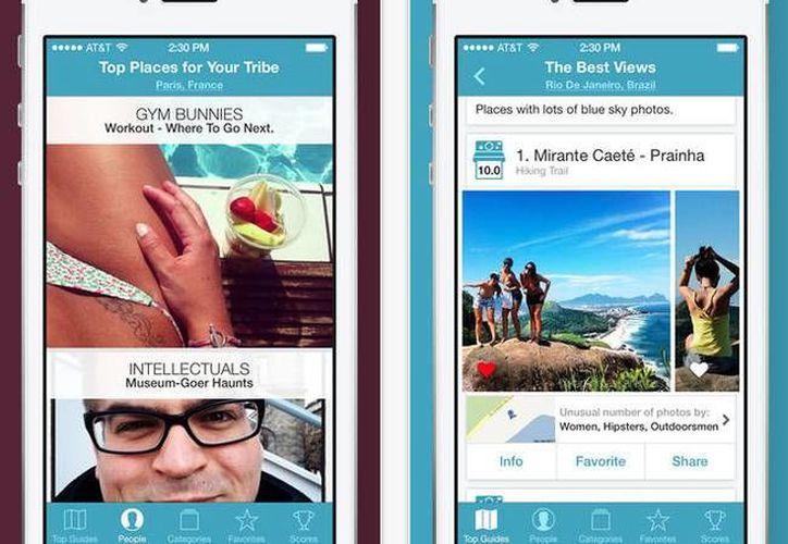 La aplicación Jetpac ofrece guías temáticas de los lugares más visitados de la ciudad donde te encuentres. (prote.in)