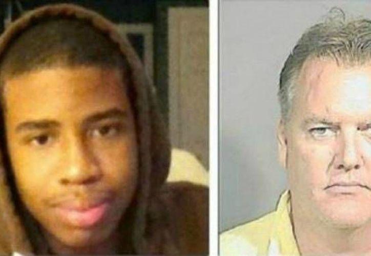 El proceso ha sido seguido con atención por los tintes raciales que presenta. Jordan Davis (izquierda) y Michael D. Dunn (derecha). (Internet)