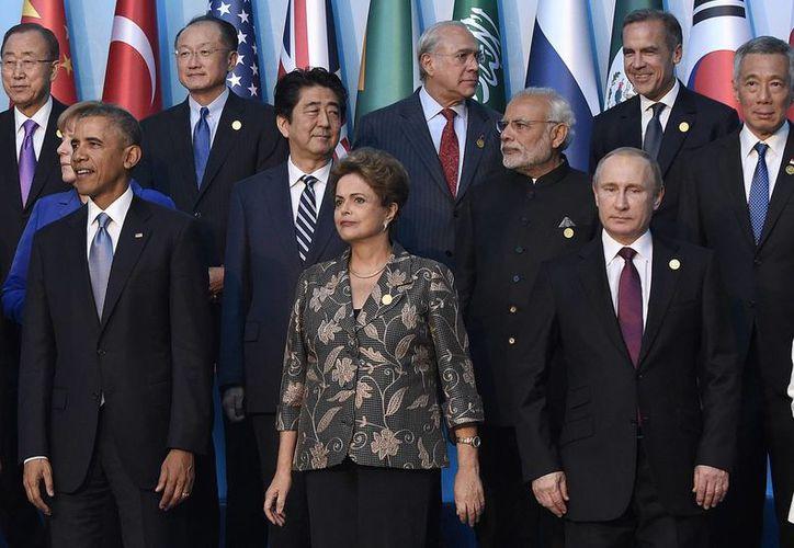 Los 20 líderes más poderosos del planeta se encuentran reunidos en Turquía, a unos cientos de kilómetros de la frontera con Siria, bastión del Estado Islámico. (AP)
