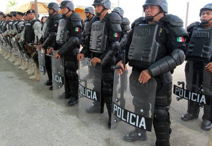 """Buscan evitar el """"efecto cucaracha"""", es decir, que los delincuentes intenten llegar a Yucatán como una medida para evitar ser capturados por los operativos que realizan las fuerzas policiacas de Quintana Roo. (Archivo/SIPSE)"""
