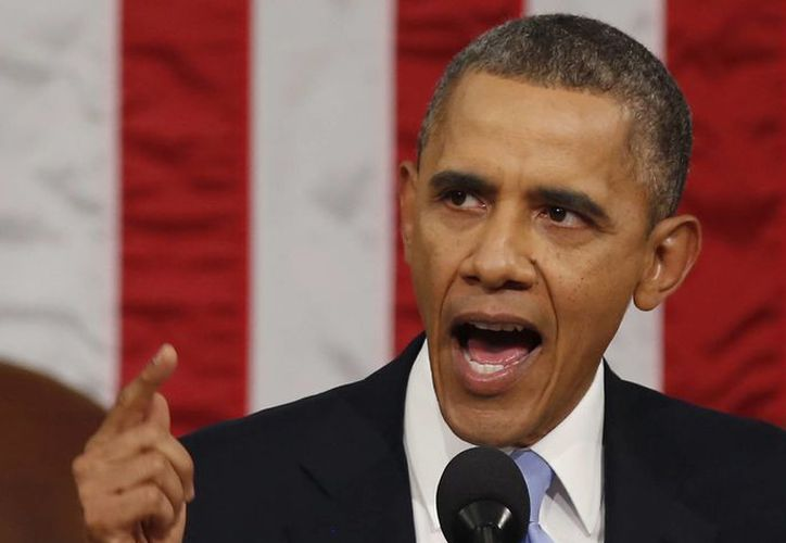 El discurso de Obama fue dominado por la economía y los asuntos internos de Estados Unidos, entre ellos la atención médica. (Agencias)