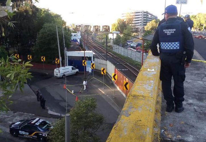 Los cuerpos fueron hallados en la colonia Nonoalco Tlatelolco de la CDMX. (Foto: Twitter)