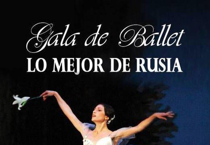 La gala esta conformada por cinco parejas solistas de diferentes teatros. (Cortesía/SIPSE)